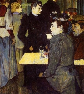 café by lautrec