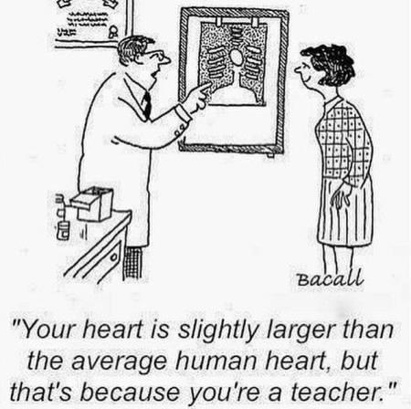 Coração de professora